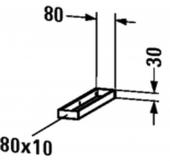 Duravit - Handtuchhalter Universal 80 x 397 mm für Konsole