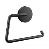 Emco Round - Papierhalter ohne Deckel schwarz