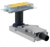 Geberit CleanLine - Duschrinne Rohbauset DN 40 für Fußbodenaufbauhöhe ab 65 mm