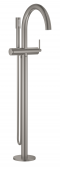 Grohe Atrio - Einhand-Wannenbatterie Fertigmontageset Bodenmontage supersteel Bild 1