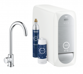 Grohe Blue Home - Mono Starter Kit Bluetooth/WIFI C-Auslauf chrom 1