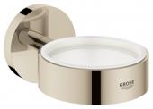 Grohe Essentials - Halter für Becher Seifenschale / Seifenspender nickel