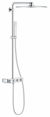GROHE Euphoria SmartControl - Duschsystem Rainshower 310 Smart Active Cube mit Thermostatarmatur chrom