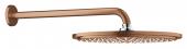 Grohe Rainshower Cosmopolitan - Kopfbrauseset 310 Brausearm 380 mm warm sunset gebürstet