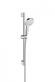 Hansgrohe Croma Select E - Multi Shower Set 0,65 m weiß / chrom