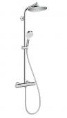 Hansgrohe Crometta - Showerpipe S 240 chrom