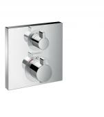 Hansgrohe Ecostat Square - Thermostat Unterputz Fertigset 2 Verbraucher chrom