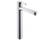 Hansgrohe Metris S - Einhebel-Waschtischmischer mit Zugstangen-Ablaufgarnitur für Waschschüsseln