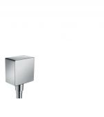 Hansgrohe Fixfit - Schlauchanschluss DN15 Square Axor mit Rückflussverhinderer chrom