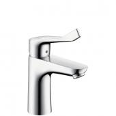 Hansgrohe Focus Care - Einhebel-Waschtischmischer 100 CoolStart ohne Ablaufgarnitur chrom