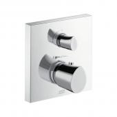 Hansgrohe Axor Starck - Thermostat Unterputz mit Absperrventil