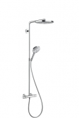 Hansgrohe Select - Showerpipe Raindance chrom