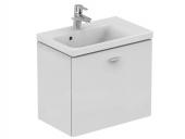 Ideal Standard Connect Space - Waschtisch-Unterschrank 590 x 375 x 513 mm hochglanz mittelgrau dekor