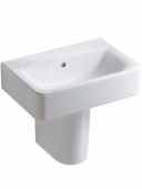 Ideal Standard Connect - Washbasin for Furniture 500x360mm without tap holes with overflow white with IdealPlus