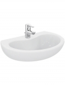 Ideal Standard Contour - Washbasin 600x451mm with 1 tap hole without overflow white without IdealPlus