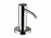 Keuco Plan - Lotion dispenser stainless steel / white