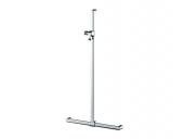Keuco Elegance - Shower handrail 31614, chromed. m.Brausestange, 828/1142 mm