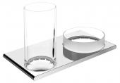 Keuco Edition 400 - Ablageschale Echtkristall-Glas mattiert lose