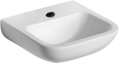 Ideal Standard Contour - Hand-rinse basin 500x420mm with 1 tap hole without overflow white without IdealPlus