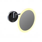 Steinberg Serie 650 - LED Kosmetikspiegel 5-fach Vergrößerung chrom