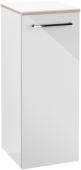Villeroy & Boch Avento - Seitenschrank 350 x 892 x 370 mm Anschl rechts crystal white