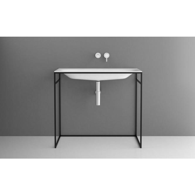 Bette Lux Shape - Waschtisch 1000 x 495 mm mit Bette Glasur Plus weiß