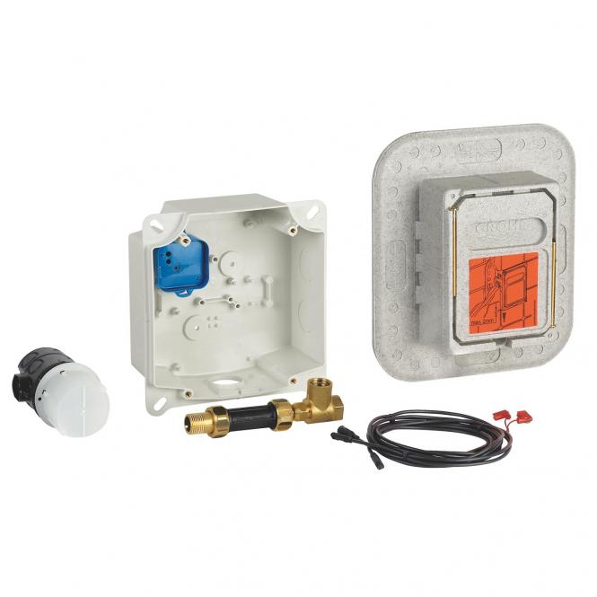 Grohe - Unterputz-Einbaukasten für Anschluss vorgemischtes / Kaltwasser