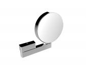 Emco Universal - Rasier- und Kosmetikspiegel Gelenkarm mit 3- und 7-facher Vergrößerung chrom