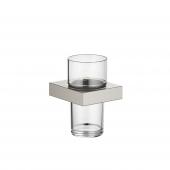 Dornbracht MEM - Glashalter Wandmodell platin matt