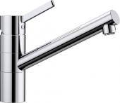 Blanco Tivo-F - Küchenarmatur metallische Oberfläche Niederdruck chrom