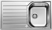 Blanco Lantos - Spüle 45 S-IF Salto Edelstahl Bürstfinish mit Ablauffernbedienung reversibel