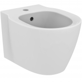 Ideal Standard Connect Space - Wandbidet kompakt 1Hahnloch 360 x 480 x 310 mm weiß mit IdealPlus