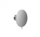 Emco Round - Rasier- und Kosmetikspiegel 3-fach rund Klebeadapter chrom