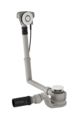 Geberit Uniflex - PushControl Badewannen-Ablauf Ø 52 mm Komplett-Set chrom