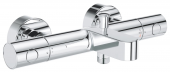 Grohe Grohtherm 800 Cosmopolitan - Thermostat-Wannenbatterie Wandmontage chrom