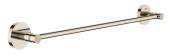 Grohe Essentials - Badetuchhalter 450 mm nickel