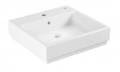 Grohe Cube - Aufsatz-Waschtisch 500 mm PureGuard weiß