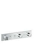 Hansgrohe Axor - Thermostatmodul Unterputz Select Fertigset 2 Verbraucher chrom