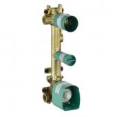 Hansgrohe Axor Citterio E - Grundkörper für Thermostatmodul Unterputz 38 x 12 für 2 Verbraucher