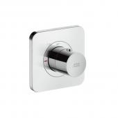Hansgrohe Axor Citterio E - Thermostatmodul Unterputz 120 x 120 mm chrom