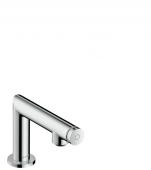 Hansgrohe Axor Uno Select - Standventil 80 brushed nickel für Waschtisch ohne Ablaufgarnitur