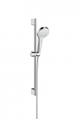 Hansgrohe Croma Select S - Multi Shower Set 0,65 weiß / chrom
