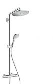Hansgrohe Croma Select S - Showerpipe 280 EcoSmart chrom