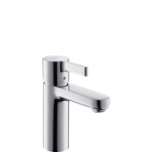 Hansgrohe Metris S - Einhebel-Waschtischmischer mit Zugstangen-Ablaufgarnitur