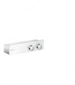 Hansgrohe ShowerTablet 350 - Thermostat Brause Aufputz DN15 weiß / chrom