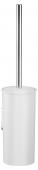 Keuco Collection Moll - Toilettenbürstengarnitur verchromt / weiß