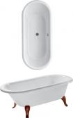 Villeroy & Boch Hommage - Badewanne 1771 x 771 mm freistehend weiß