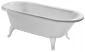 Villeroy & Boch Hommage - Badewanne 1771 x 771 mm freistehend Quaryl weiß alpin