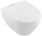 Villeroy & Boch Subway 2.0 - TS-WC spülrandl 5614 370 x 560mm DF ViFresh wandh weiß alpin AB C+