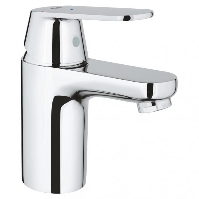 Grohe Eurosmart Cosmopolitan - Einhand-Waschtischbatterie S-Size mit Push-open Ablaufgarnitur chrom
